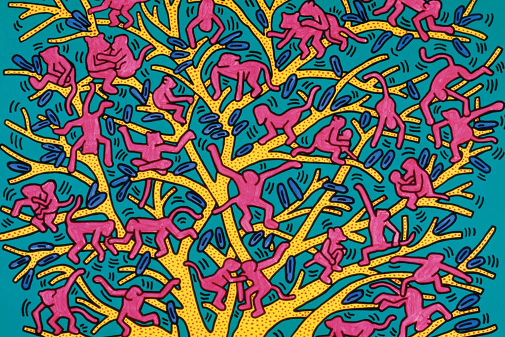 Keith Haring  Peppermint Gia