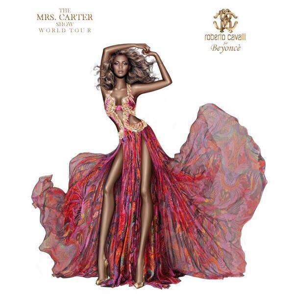 Roberto-Cavalli-Mrs-Carter-Show-World-Tour-Sketch