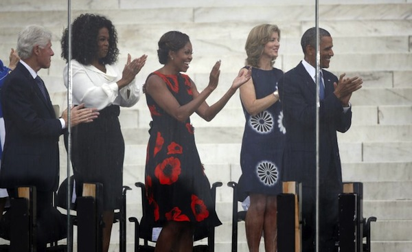 0-First-Lady-Michelle-Obamas-March-on-Washington-50th-Anniversary-Tracy-Reese-Embellished-Flared-Frock