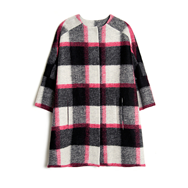 KirnaZabete-MSGM-Plaid-Three-quarter-Sleeve-Coat-31