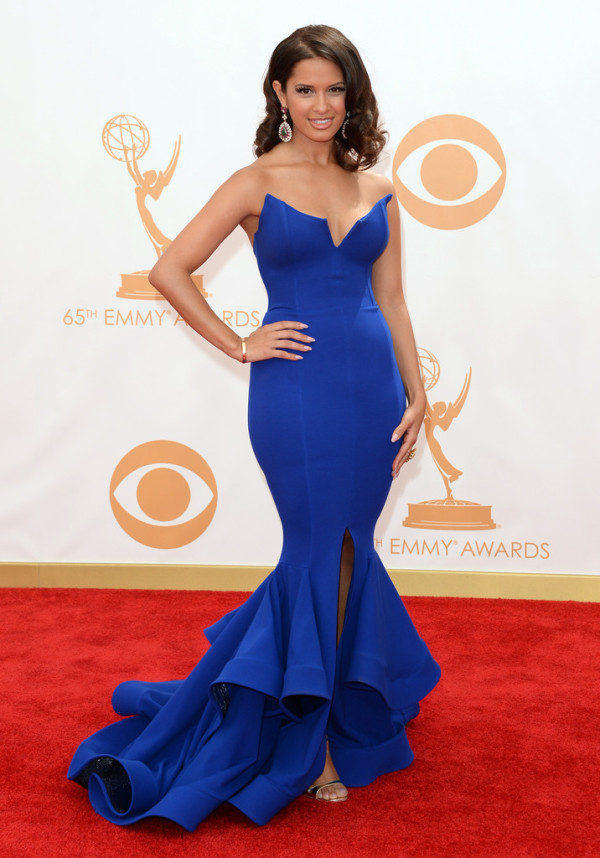 Rocsi-Diaz-in-Michael-Costello-2013-Primetime-Emmy-Awards--600x858